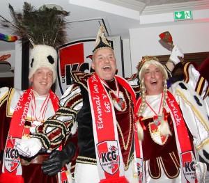 Bauer Ralf, Prinz Meinolf und Jungfrau Gerti